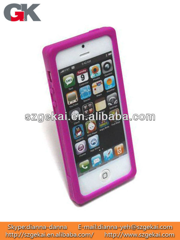 Silicone Cassette Tape Case for iPhone5