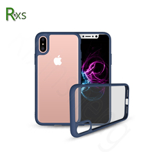 Newest products !Clear PC+TPU Bumper Cell Phone Armor Hybrid Case for iPhone X