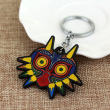 Promotion wholesale Metal western owl keychains