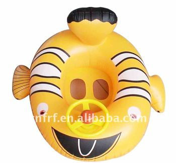 pvc inflatable pool floating baby seat