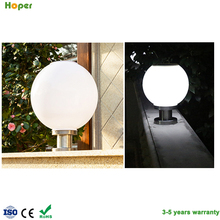 Hot sale IP65 Outdoor LED Solar pillar light