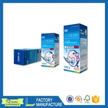 Customized medicine box new design paper packaging box