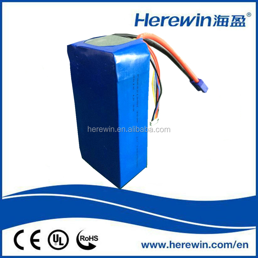 wholesale li ion high capacity 12000mah 4s 6s 12s lithium polymer battery packs