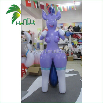 Pretty Sexy Customized Hongyi PVC Inflatable Girl / Inflatable Sexy Toys With SPH