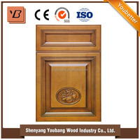 High demand export products Solid Birch Wood Kitchen Cabinets import from china