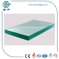 12.76mm/66.2 Thickness Laminated Tempered Glass