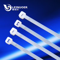 White Self Locking PA66 Nylon Plastic