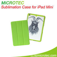 Sublimation leather case for ipad mini slim case