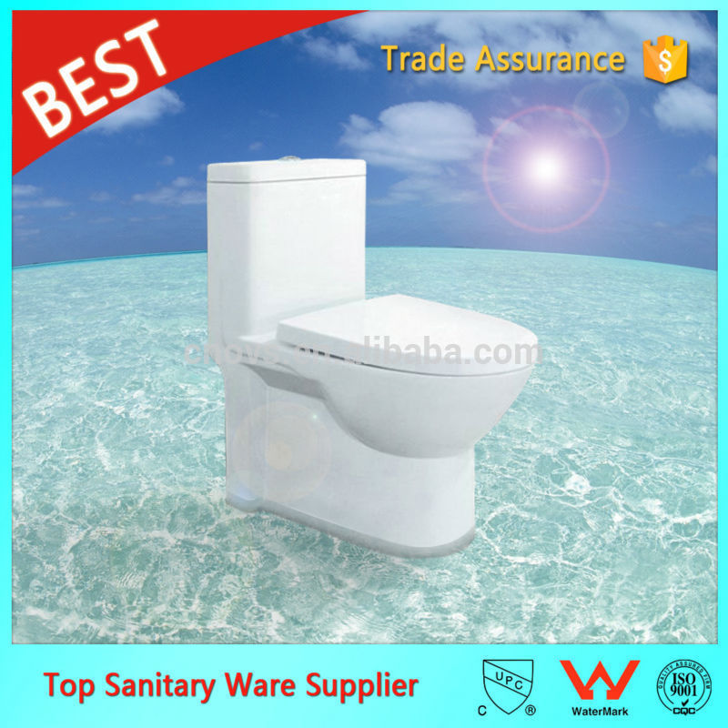 wholesale siphon jet flushing one piece toilet