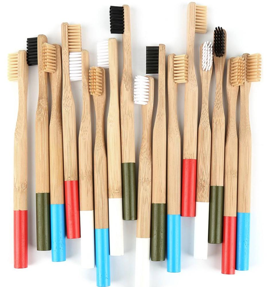 Wholesale <strong>bamboo</strong> Bristles Eco Friendly Recyclable BPA Free 4 pack Biodegradable Vegan gift Organic <strong>Bamboo</strong> Toothbrush