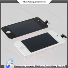 Original Wholesale touch screen for iphone 4s touch screen glass lens white black