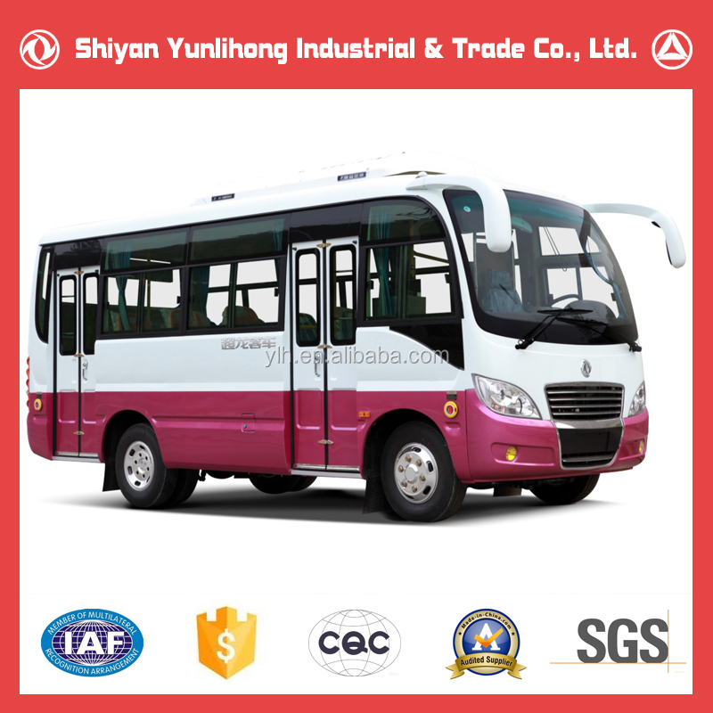 Dongfeng Manual Transmission China Mini Bus/City Bus For Sale/18 Seat Mini Bus