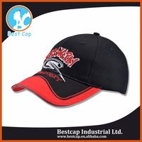 Black short brim good directly factory sport cap