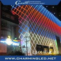 Guangzhou full color rgb led digital dxm led light tube for building decoration