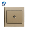 13 years Factory 1 Gang Wall Television Socket