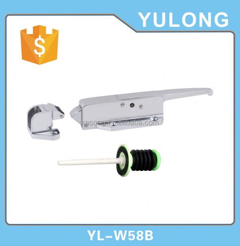Padlock door latch zinc plated Hasp Staple