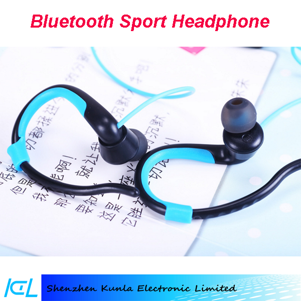 2017 gift In-Ear headphone bluetooth headset with Mic, hands free phone call sport earphone