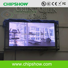P8 advertising electronic outdoor full color led tv billboard
