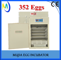 Chea price Poultry egg incubator hatchery machine MJ-352 egg incubator chicken quail birds eggs