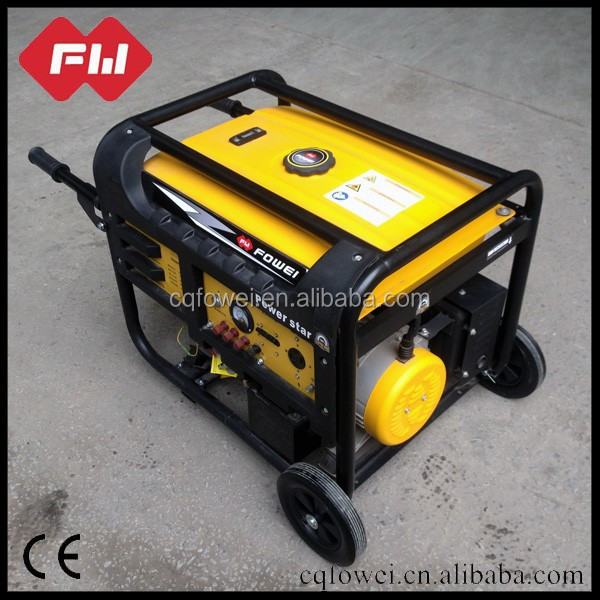 2500 mini electric start self power generators