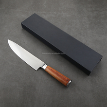 8 Inch Kitchen Wooden Handle Professional Chef Carving Knife Gift Case included