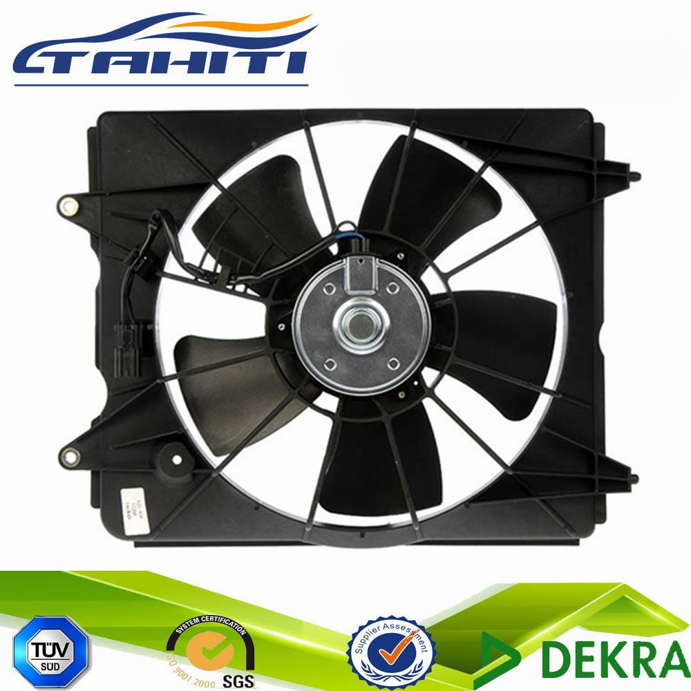 Car Plastic Blade Electrical Radiator Fan Assembly 621-438 Condenser Cooling Fan 19015-REZ-A01 19020-RSA-G01 38616-RB0-003