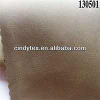 twill interweave drapery solid color cotton polyester fabric