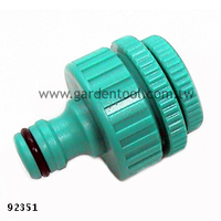 "Hose 1/2"" - 1"" Tap Adapter Quick Connect Set"