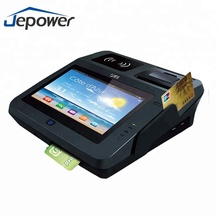 Jepower JP762A NFC POS Android Tablet with WiFi 3G Printer and Magcard/IC Card Reader