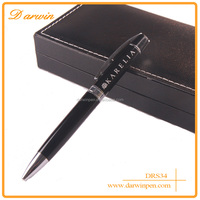 Personalised logo printing for promotion metal pen/brass ball pen with gift box