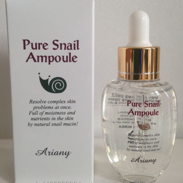 Ariany Pure Snail Ampoule 50ml , Made in KOREA