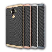 Special camera protective PC frame with TPU back cover phone case for Huawei Mate 9 Mate 9 Pro