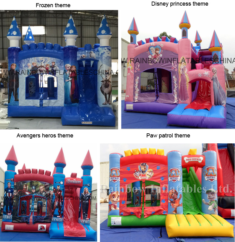Cheap Prices Air Frozen Bounce Inflatable Adult Bouncy Castle For Sale