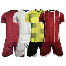 black and yellow soccer sets,solid red soccer jersey,white football uniform