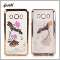 2016 Factury TPU voltage soft case color drawing Gold Stamping for Samsung j510