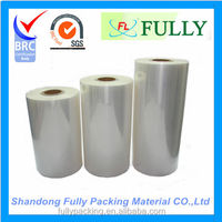 2015 hot sale transparent heat pof shrink film