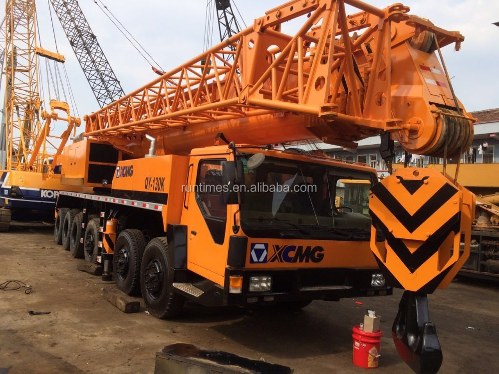 Used Truck Crane 25ton 50 ton 130ton /Xcmg Truck Mounted Crane 130ton for sale!