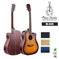 Matt Finish Cheap guitar with Celluloid Bindings, import guitar china