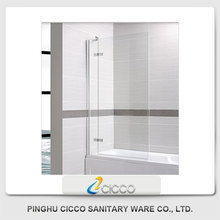 New Design Fittings For Sliding Glass High Quality Bath Folding Shower Screen