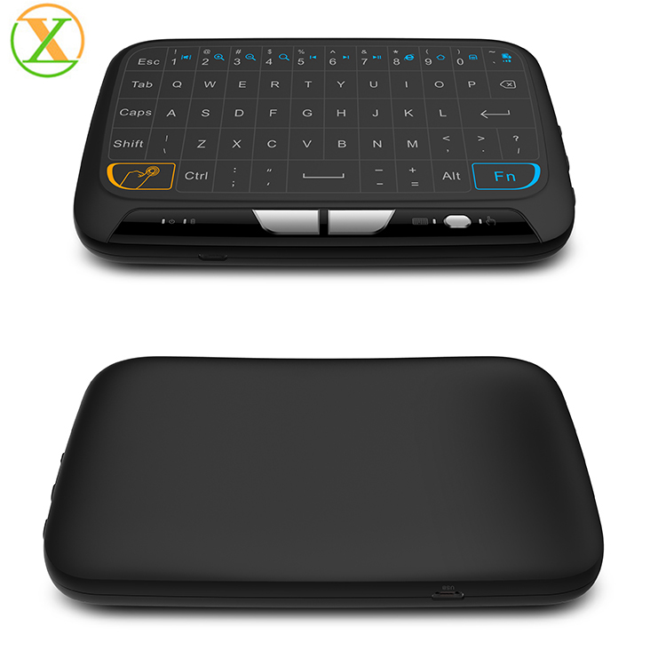 oem 56 keys desktop computer laptop pc iptv usb wireless keyboard washable dustproof waterproof flexible silicone keyboard
