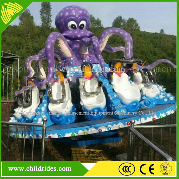 wholesale fairground rides octopus rotating rides for sale