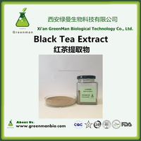 High Quality Black Tea Extract Theaflavin Polyphenol 20%-98% natural organic