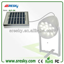 Mini Solar power system with LED light and mobile phone charger