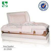 JS-ST620 highly competitive metal coffins and caskets
