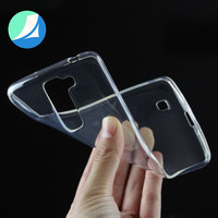 Ultra Thin TPU Transparent Case For LG Q7 mobile phone accessories factory in china