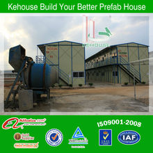 Movable ade ready steel frame movable houses prefab steel housing for sale with 2 storey movable building design