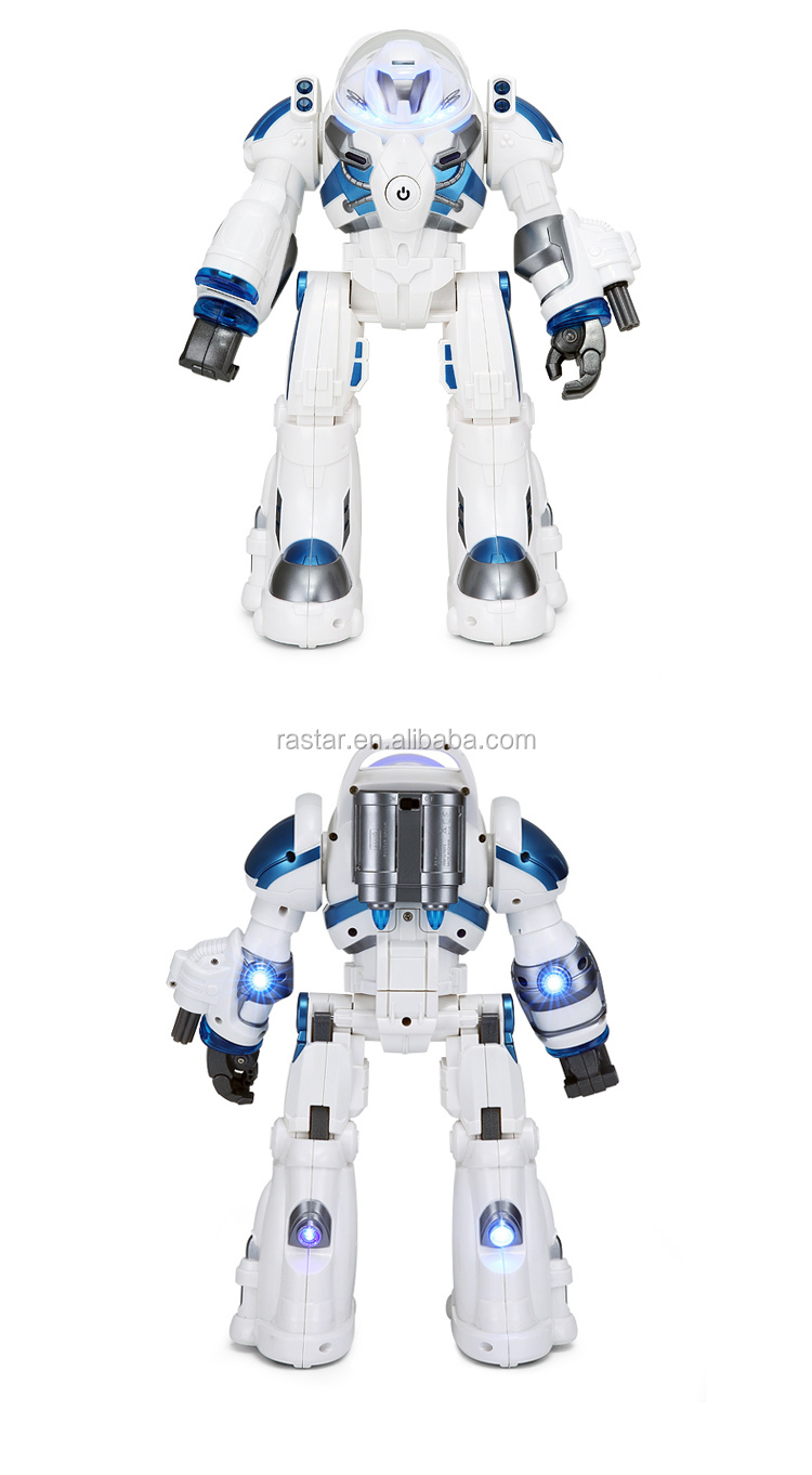 RASTAR rc plastic intelligent toy movable arm robot kit