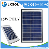 high efficiency and low price polycrystalline solar panel 15w of China supplier