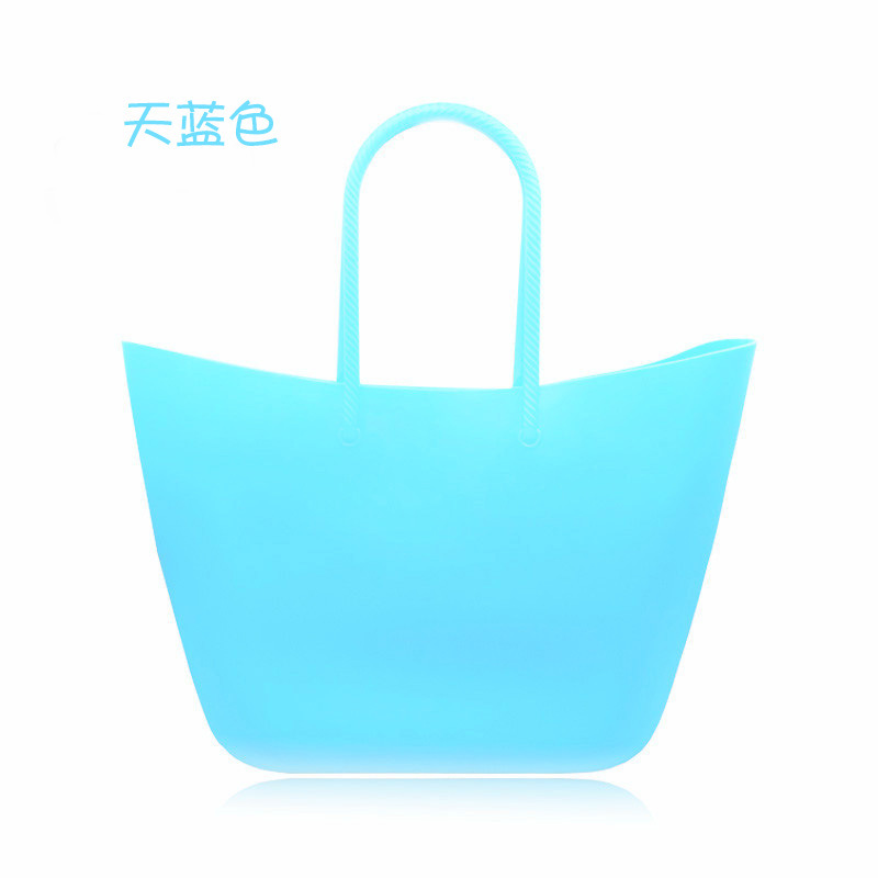 Leash beach obag Handbag Handles Women classic trim baobao mini fashion silicone <strong>shoulder</strong> shopping top waterproof eveni