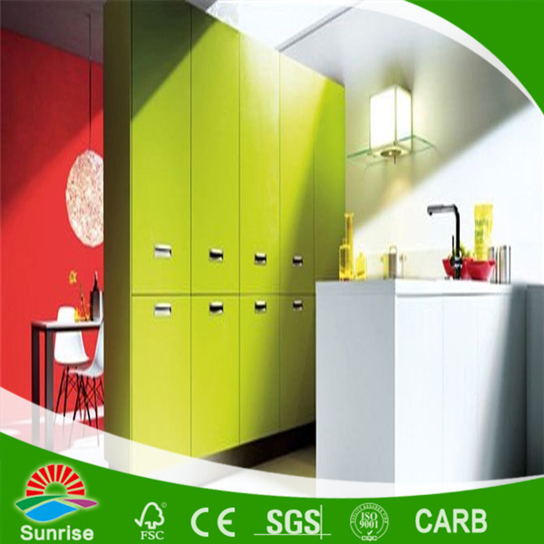 kitchen cabinet with PVC Vacuum panel doors